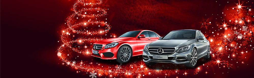 We're left the GST under the tree at Mercedes-Benz Macgregor
